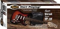 Набор Squier Fender Affinity Series™ Strat® Black